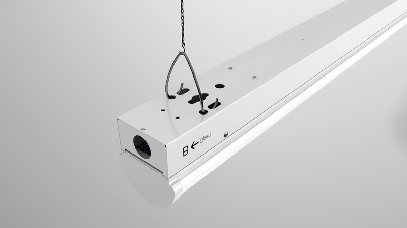 LED Linear Ambient High Bay Light 8ft 100W