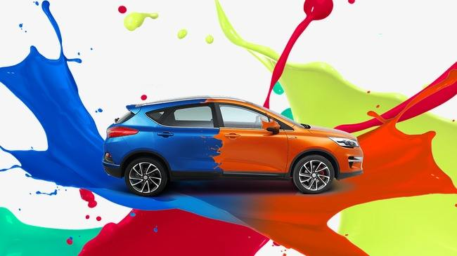 How to paint a car?