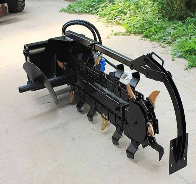 agricultural equipment popular selling Skid Steer Mounted Chain Trencher