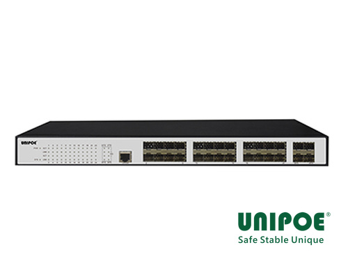 24*1000Mbps SFP +4*10G SFP+ Fiber Managed Switch