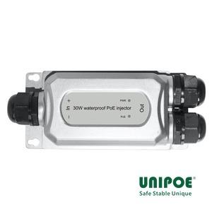 30W Waterproof PoE Injector