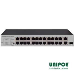 24*10/100Mbps+1G Combo+1GE Switch