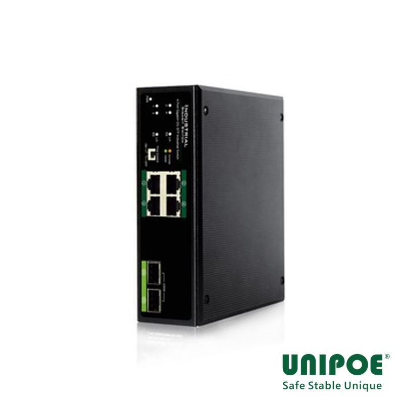 4-Port Gigabit+2G SFP Industrial Switch
