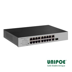 16*10/100Mbps+1G Combo+1GE Switch