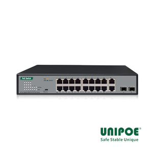 16*10/100/1000Mbps  +2 SFP Slots +2GE PoE Switch