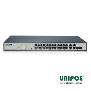 24-Port Gigabit+2G Combo+2GE PoE Switch
