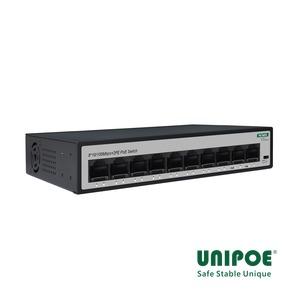8*10/100Mbps+2FE Uplink PoE Switch