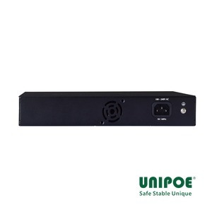 16*10/100Mbps+1G Combo +1GE PoE Switch