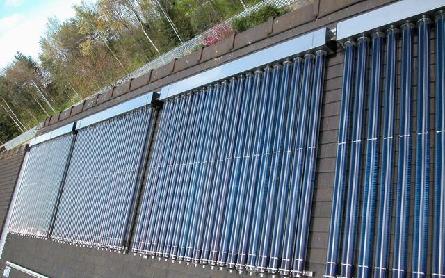 standard solar collector--14mm heat condensor
