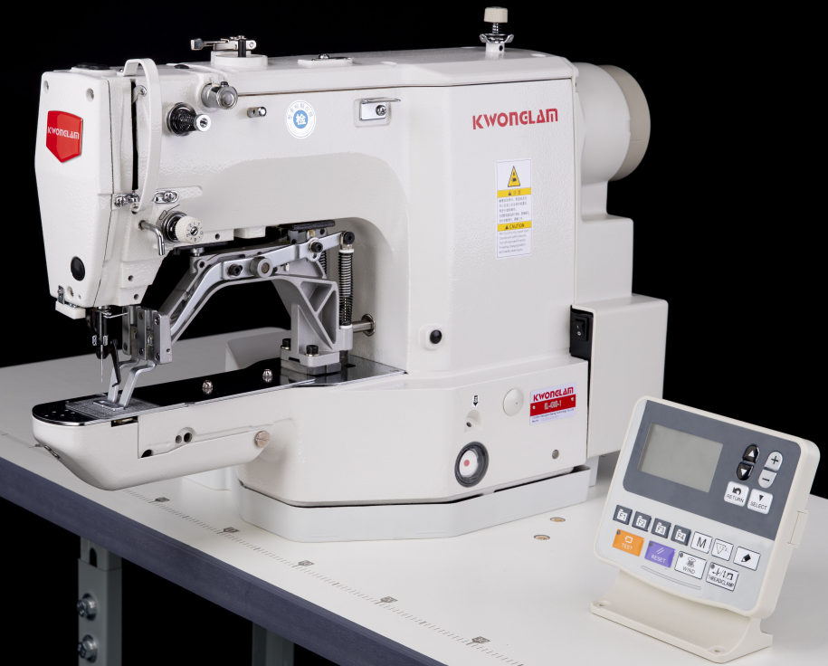 Electronic Bar Tacking Jeans Sewing Machine For Heavy Duty Fabrics