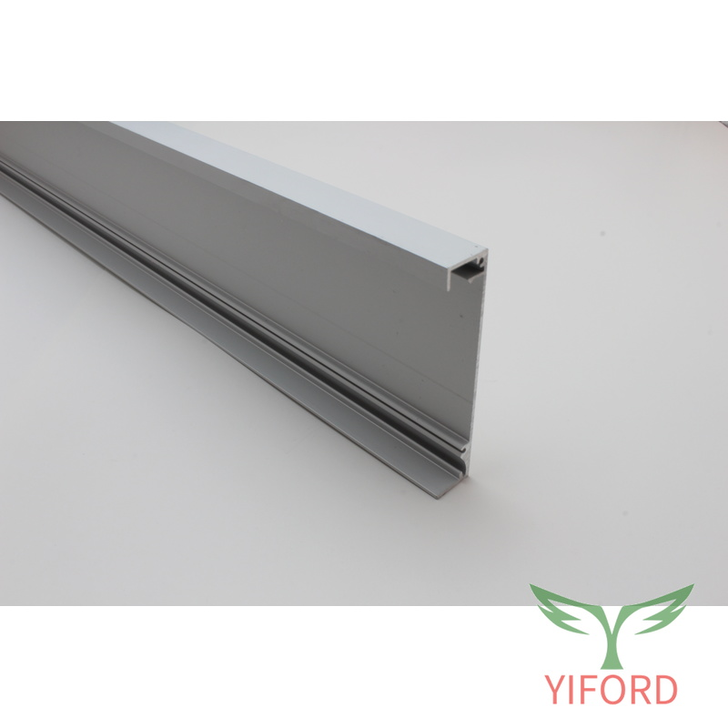 10mm for surface or recessed mounted