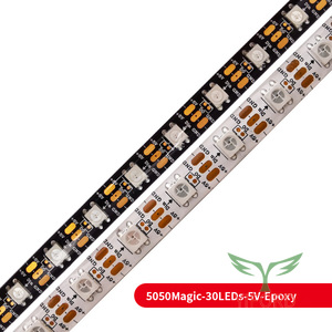 5050 série de bandes LED magiques IC intégrées