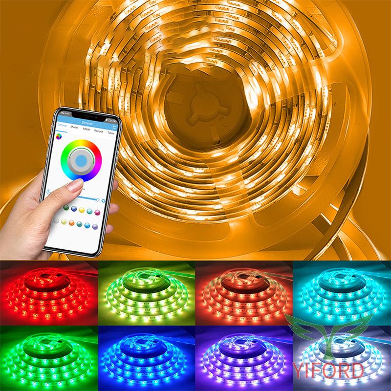 ЦВЕТНЫЕ СВЕТОВЫЕ ПОЛОСЫ 5050 RGB