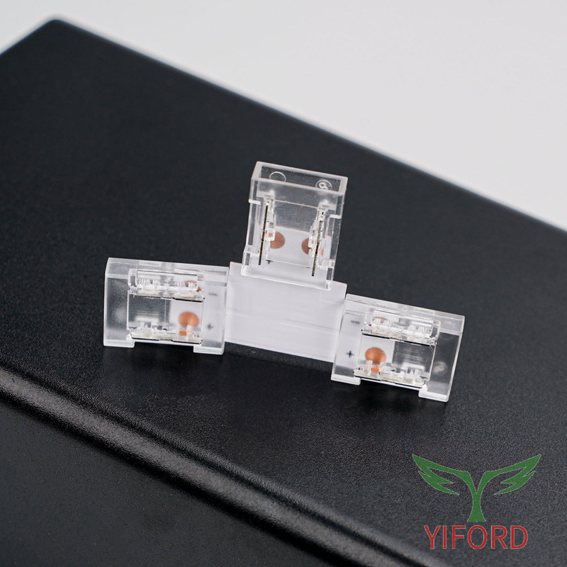 Crystal T-shaped Connector for  led strips