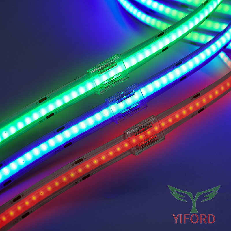 Connector for 10mm RGB led strips