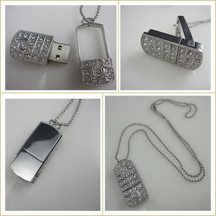 Gift Flash USB Large Jewelry Storage USB Flash Memory Storage 8GB