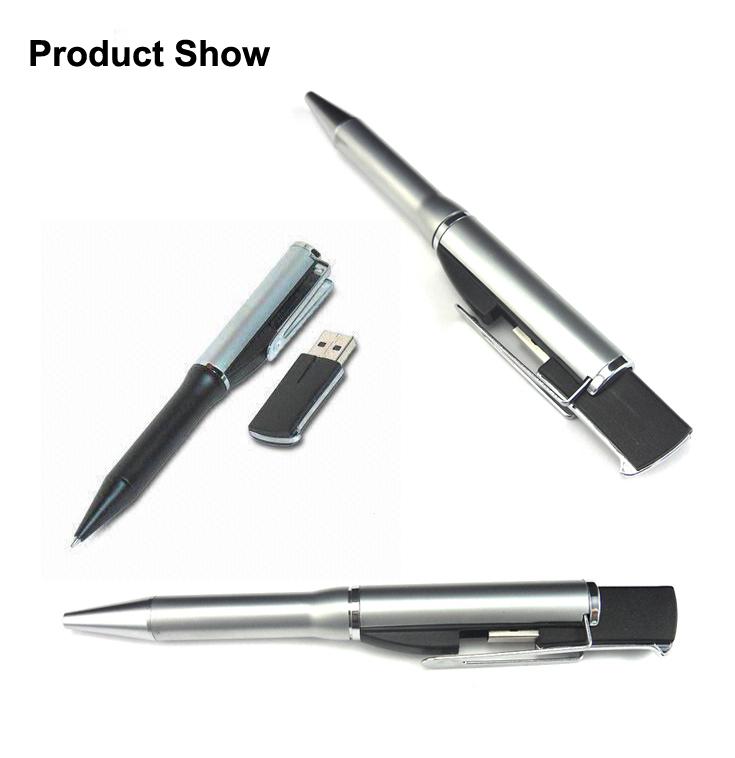 Pen Shaped USB 4GB Pendrive Original Custom USB Stick for Advertising