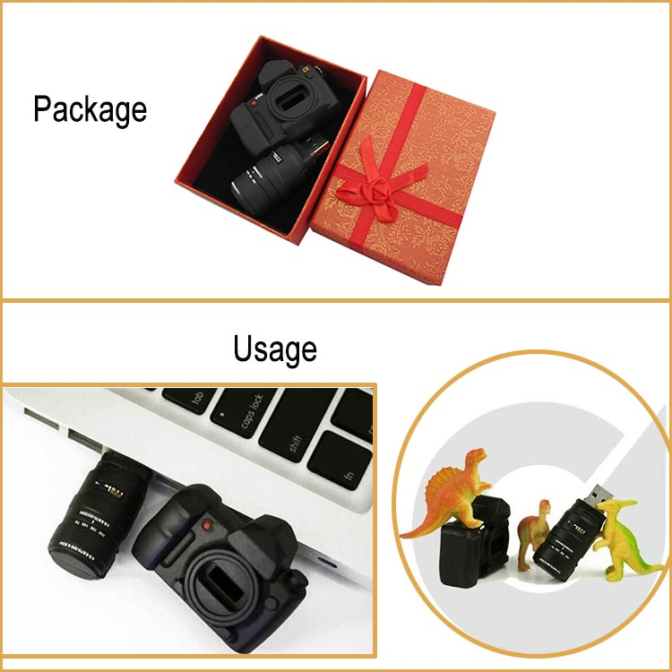 New Technology 4GB U Disk Camera Shape for Bulk Production