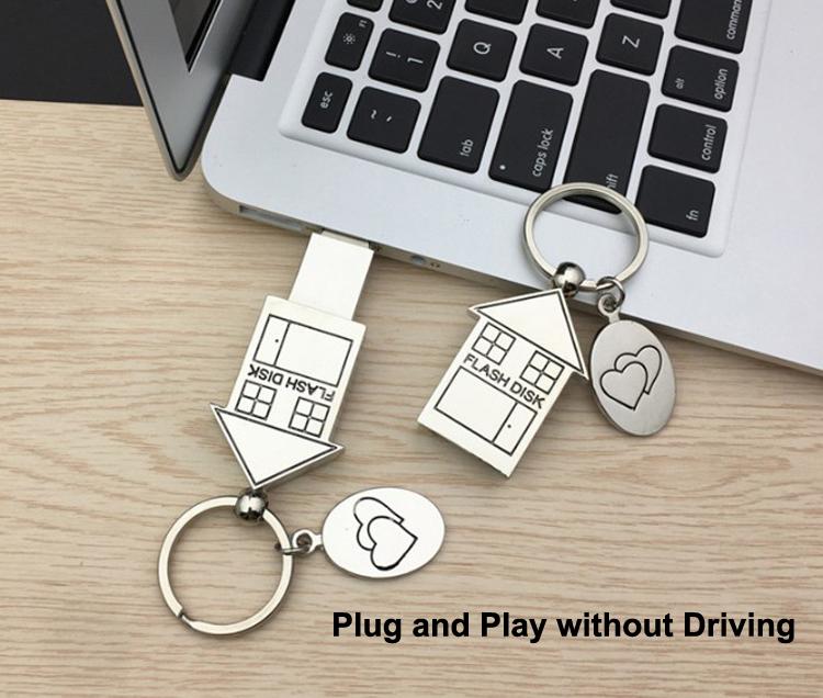 House USB Memory USB Flash Drive 1GB