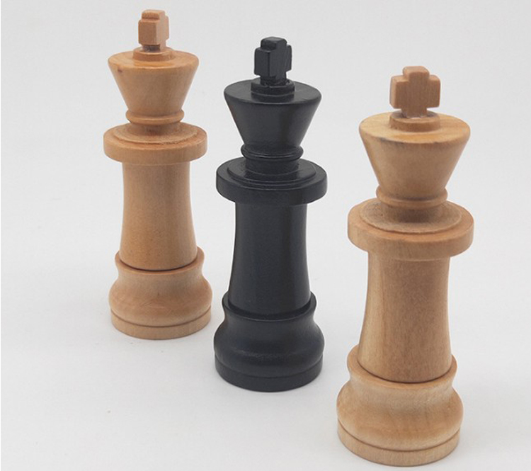 Funny Chess King USB Stick Different Models Pen Drive 4GB New Wooden USB Flash