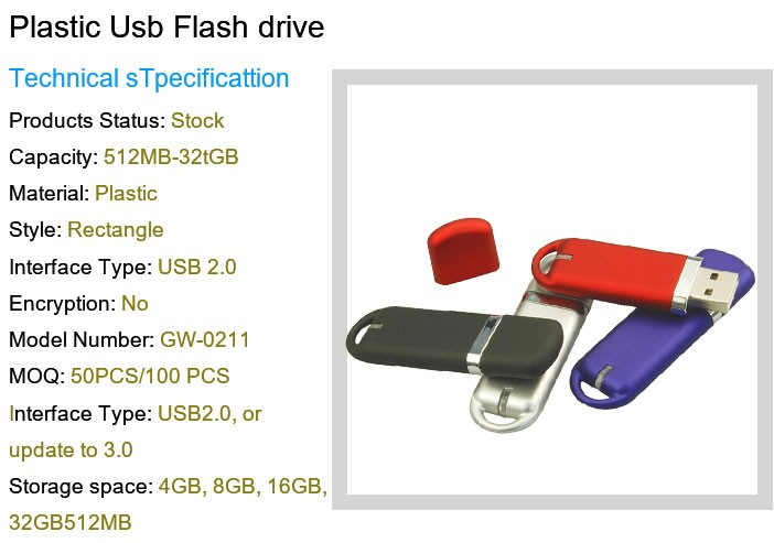 Cube USB Storage for Computer Accessory 2GB