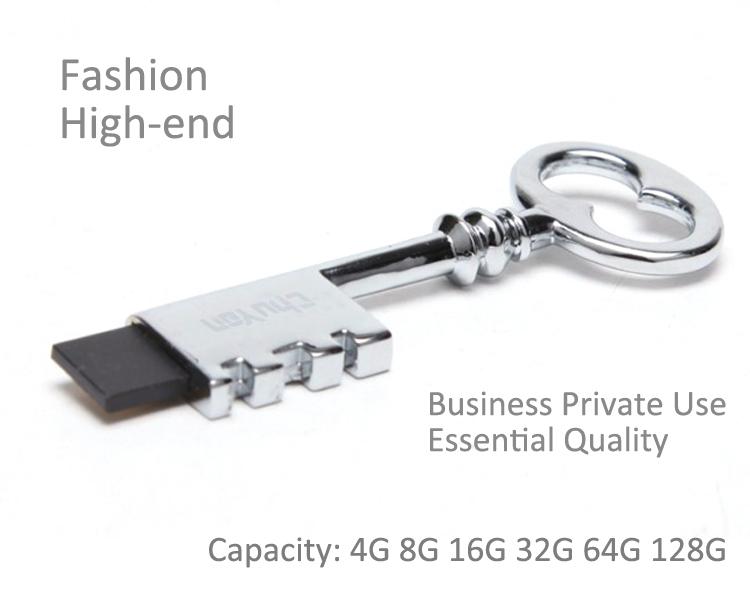 Key Shape Cool USB Stick 4GB U Disk Pen drive