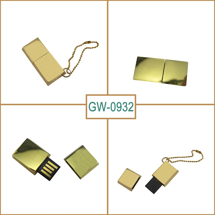 Custom Logo Mini Brick USB2.0 Flash Drive 1GB 2GB 4GB 8Gb 16GB Custom USB Pendrive for Promotion