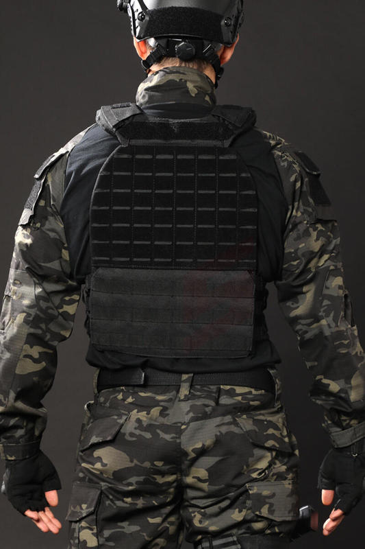Classic Steel Wire Quick Release Tactical Plate Carrier