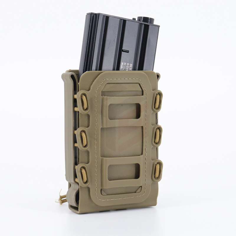 Tactical Scorpion Fast Mag Quick Release Mag TPR Molle Pouch Funda para revista para Ar15 M4 5,56 7,62 9mm