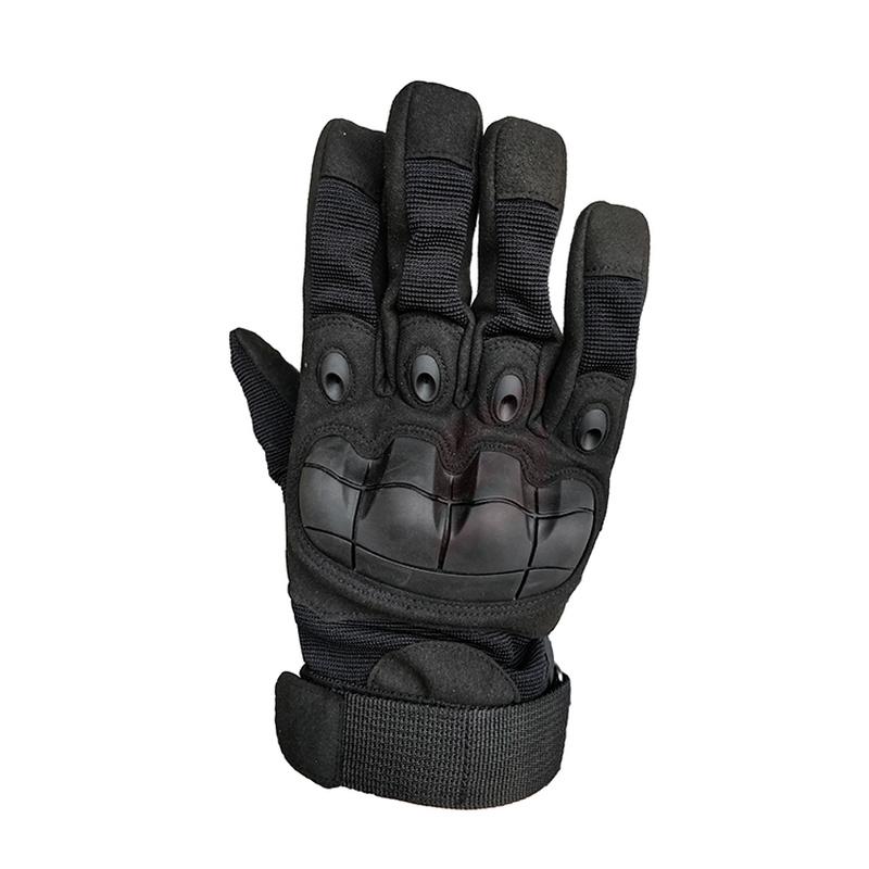 Nuevo guante táctico de dedo completo, guantes de concha protectora de goma militar