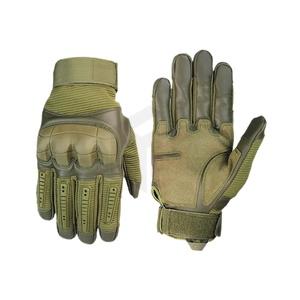 GL711 tactical gloves black green tan