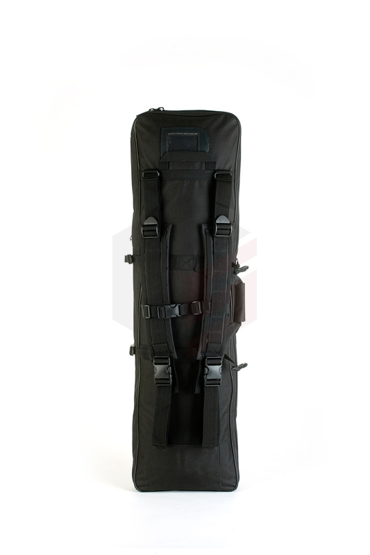 1 metro Airsoft Rifle Bag Tactical Rifle Gun Carring Shoulder Sling Case Bag con bolsa extendida