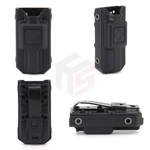 Outdoor Molle EMT Tourniquet Carrier Pouch Hunting Application Tourniquet Storage Bag Box Holder Case Tactical Quick Pull Box