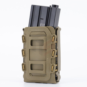 Tactical Scorpion Fast Mag Quick Release Mag TPR Molle Pouch Magazine Holster for Ar15 M4 5.56 7.62 9mm