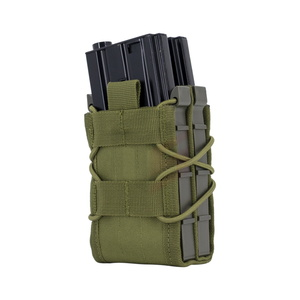 Military Utility Molle Pouch M4 Tactical Double Layer Rifle Magazine Storage Bag