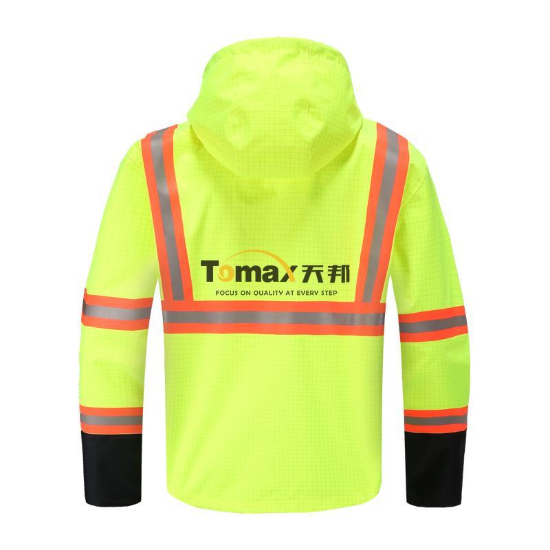 FR Rain008J 阻燃雨衣夹克