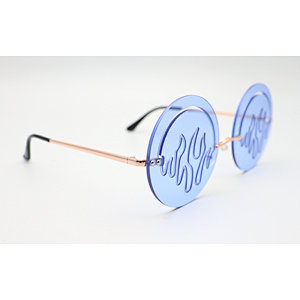 DTFJ2548 Ocean Lens Round Shape Fashion Sunglasses