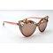 DTZ1877 Cateye metal flower/floral decor enamel/rhinestone fashion sunglasses
