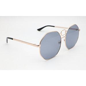 DTFJ1945 Metal Oversize Round Sunglasses