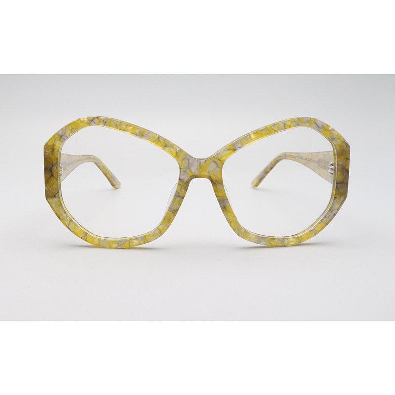 DTYN030 Oversize GEO lamination fashion acetate optical frame glasses