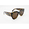 DTH9420 Cateye Square shape thick sunglasses