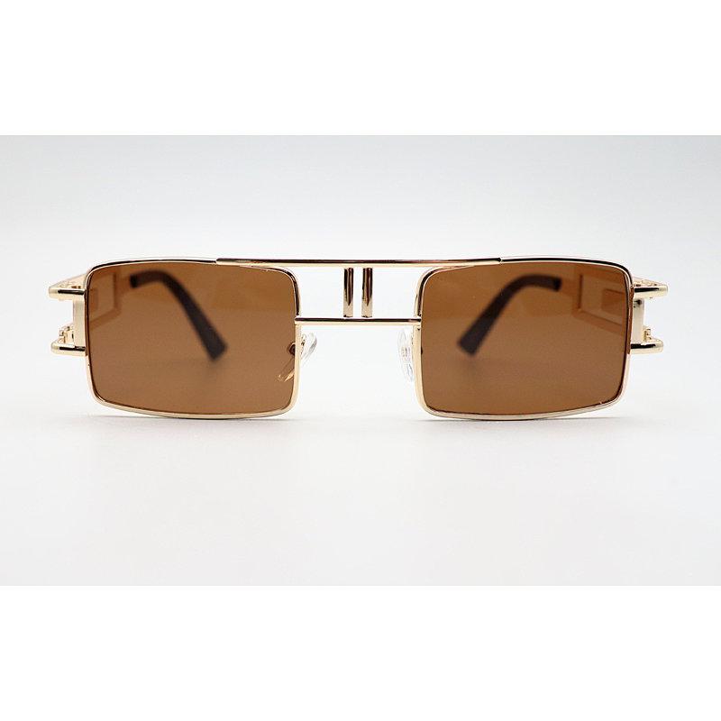 DTFJ2539 Square shape double bridge sunglasses