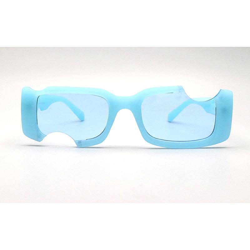 DTL1073 Square shape thick fashion sunglasses