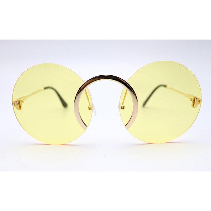 DTFJ2414 Round shape fashion sunglasses