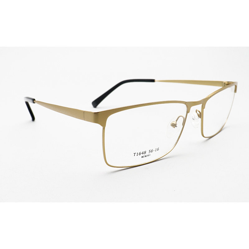 T1648 Metal Momery WOMAN Round optical