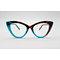 DTYN021 Cateye lamination fashion acetate optical frame glasses