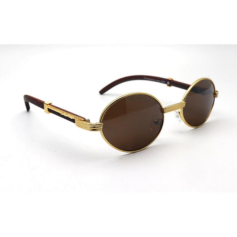 DTBG689 Oval Sunglasses