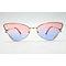 DTFJ2286 Cateye Metal Sunglasses