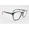 SSO051 Round shape keyhole acetate optical frame glasses