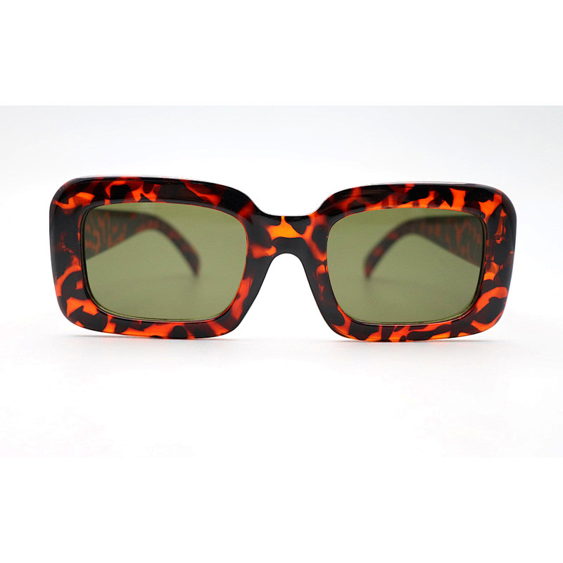 DTFK9685 Square shape thick fashion sunglasses